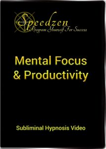 Mental Focus & Productivity Subliminal DVD