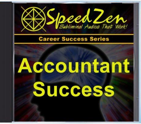 Accountant Success Subliminal CD