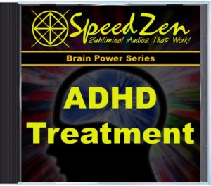 ADHD Treatment Subliminal CD