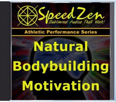 Natural Bodybuilding Motivation Subliminal CD