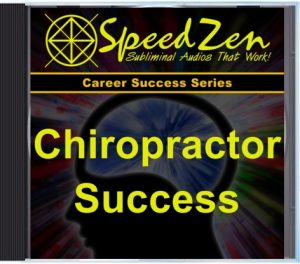 Chiropractor Success Subliminal CD
