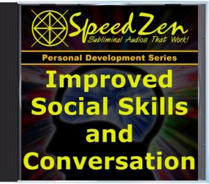 Social Skills & Conversation Subliminal CD