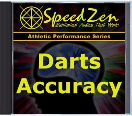 Darts Accuracy Subliminal CD
