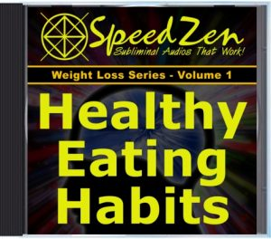 Healthy Eating Habits Subliminal CD