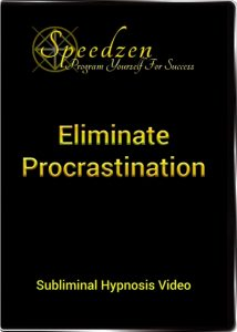 eliminate procrastination subliminal dvd