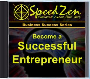 Become a Successful Entrepreneur Subliminal CD