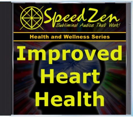 Improved Heart Health Subliminal CD