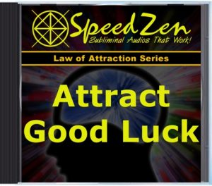 Attract Good Luck Subliminal CD