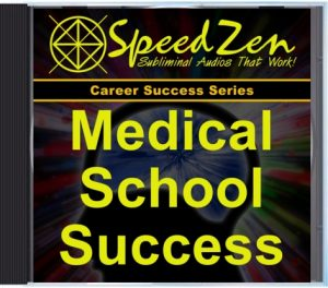 Medical School Success Subliminal CD