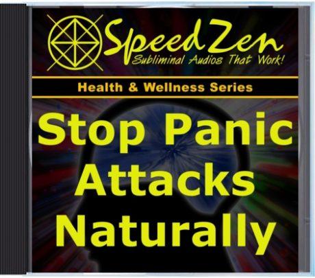 Stop Panic Attacks Naturally Subliminal CD