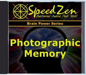 Photographic Memory Subliminal CD
