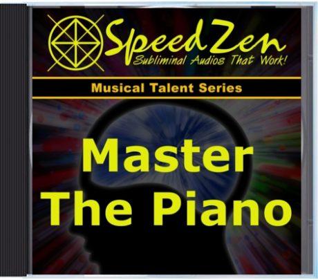 Master the Piano Subliminal CD