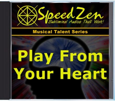 Play From Your Heart Subliminal CD