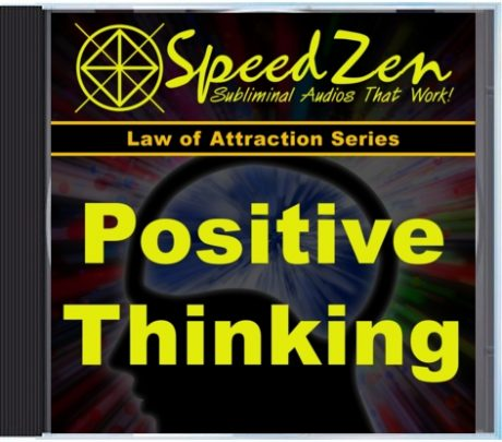 Positive Thinking Power Subliminal CD