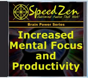 Mental Focus & Productivity Subliminal CD