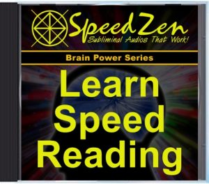 Learn Speed Reading Subliminal CD