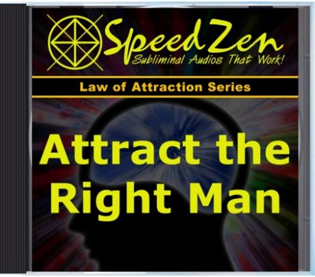 Attract the Right Man for Marriage Subliminal CD