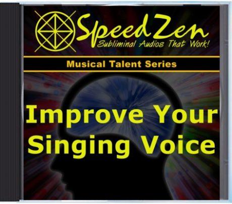 Improve Your Singing Voice Subliminal CD