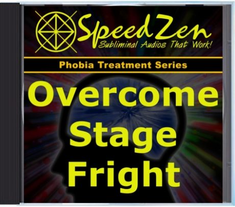 Overcome Stage Fright Subliminal CD