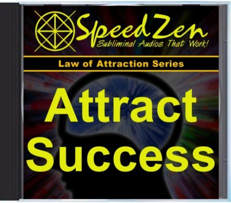 Attract Success Subliminal CD