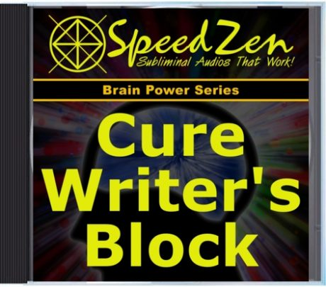 Cure Writer's Block Subliminal CD